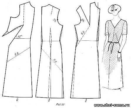 выкройки платьев до колена сбил летнюю летнюю