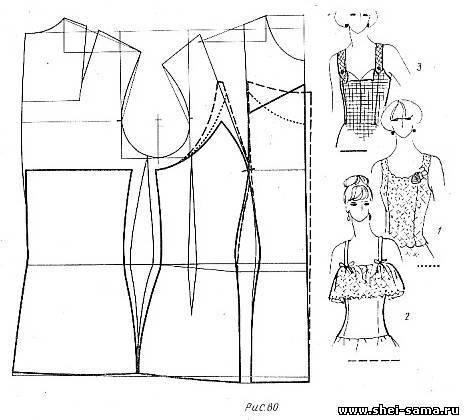 Построение Основы Блузки