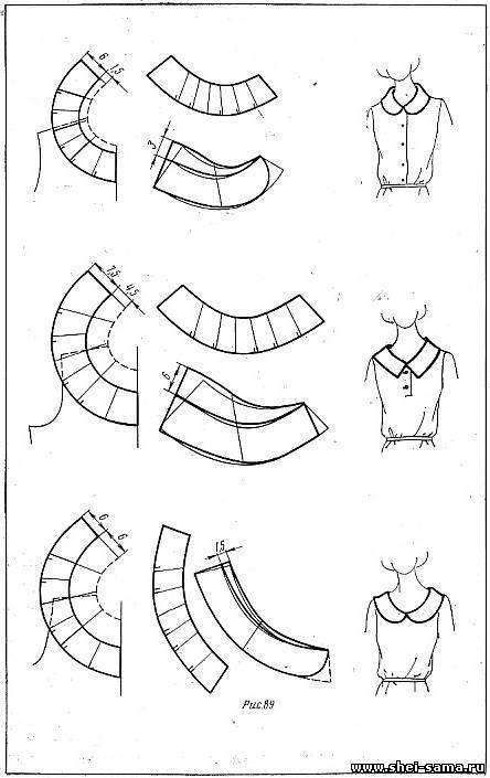 Оригинальные рукава выкройки