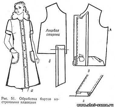 Застежка на платье обработка
