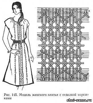 Виды стежков для вышивания