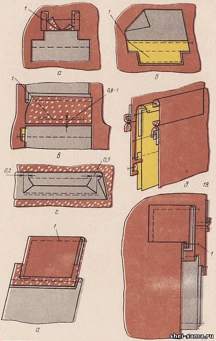 Как правильно сшить прорезные карманы с листочками