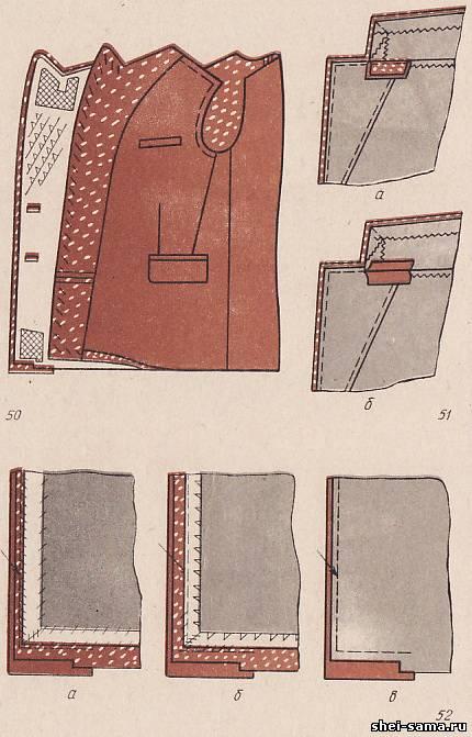 Пошив пальто своими руками дублерин 47