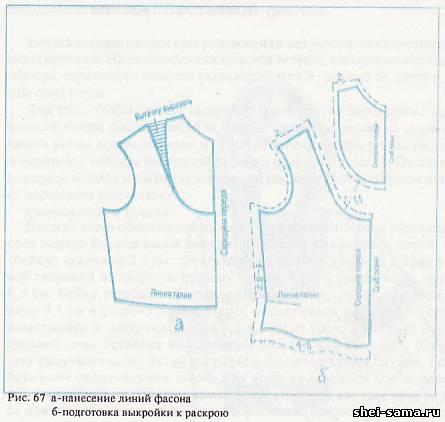 Как Выкроить Блузку