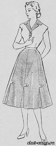 Сукня комбіноване із смугастої та однотонної тканини