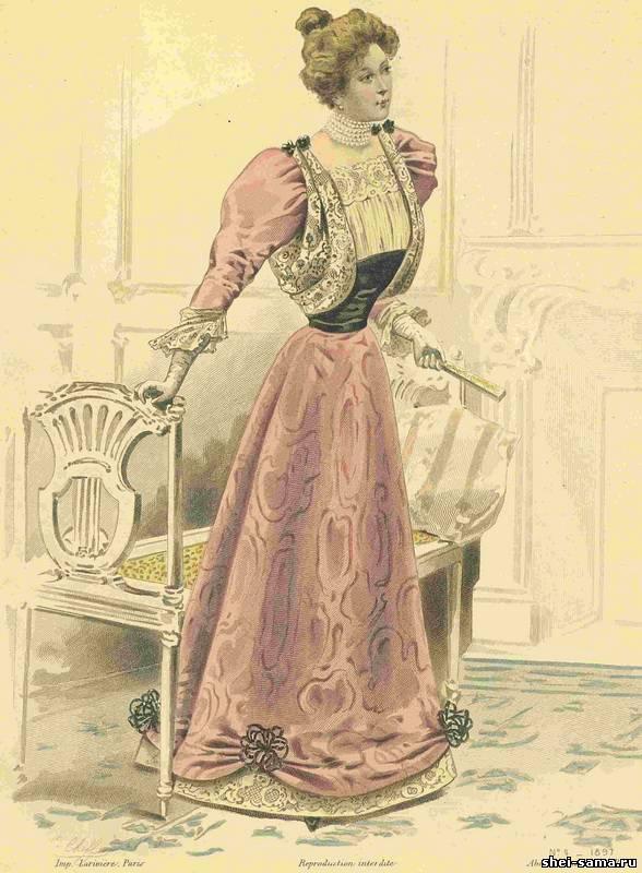fashion 1890 1900