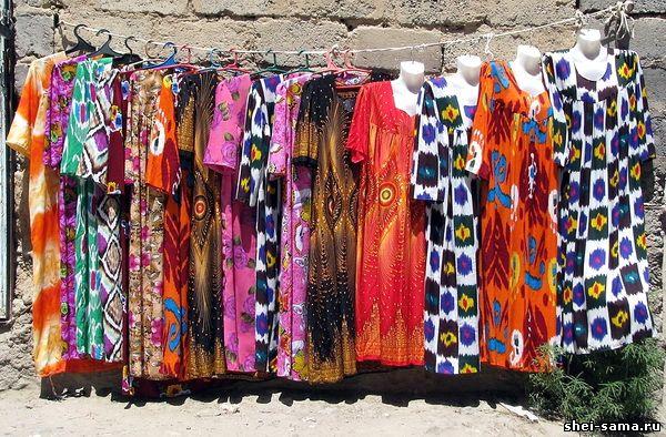 Женские узбекские национальные фото платья