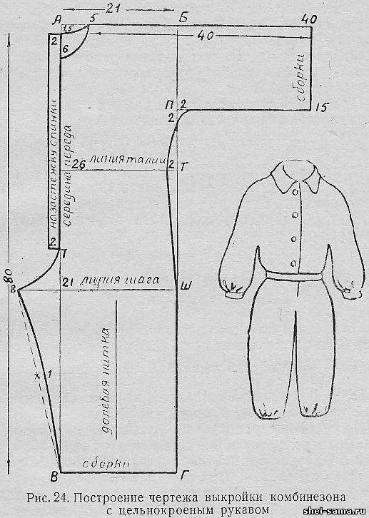 Как сшить комбинезон для девочки пошаговая инструкция