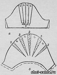 Как сделать рукав фонарик для детей