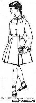 школьное платье (форма)