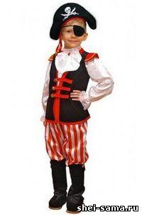 Шиємо костюм пірата для свята - Різне - Все про шиття - Ший сама 8617e31f5d0fe