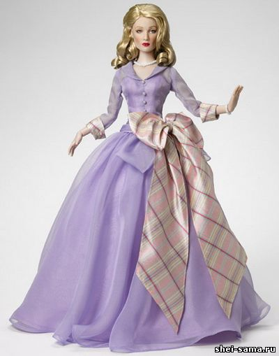 Как сшить себе платье кукле 166