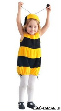 Костюм пчелки в детском саду
