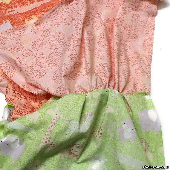Двухстороннее платье как сшить 88