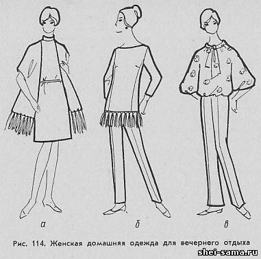 Описание: Рисунок 1.3 Эскиз женской блузки из шелковой ткани... . Автор: Всеволод. Эскизы женских блузок