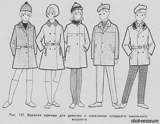 Пальто для девочек и для мальчиков
