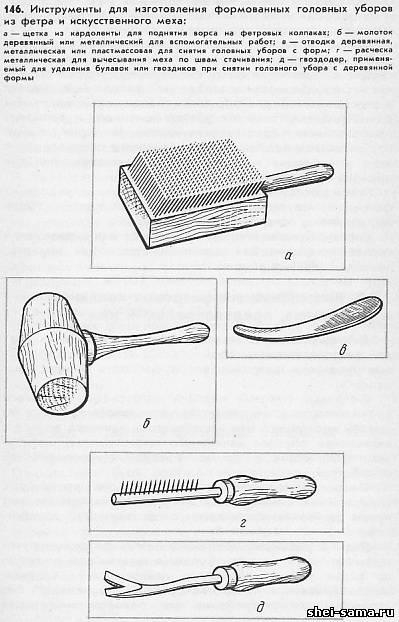 Изготовление головных уборов своими руками