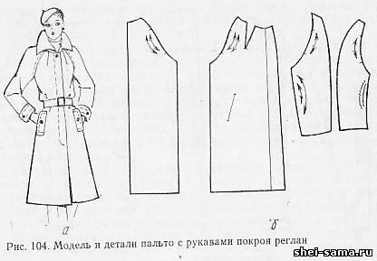 Платье рукав реглан своими руками выкройка